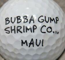 (1) Bubba Gump Shrimp Company Restaurant Logo Golf Ball Maui