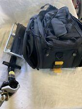 Topeak  QR Beam Rack -MTX MTB/Commuting Pannier Rack With Panniers.