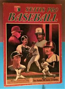 🔥🔥🔥 Avalon Hill Statis Pro Baseball Game / Board Game