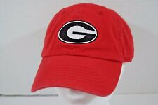 Georgia Dawgs Red Baseball Cap  Adjustable