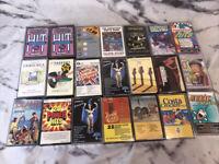 Cassette Job  Lot X21 Mixed Lot Various Artists Lot 1