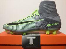 Nike Mercurial Superfly V FG Sockboot ~ 831940 003 ~ U.K. Size 9.5 ~ Euro 44.5