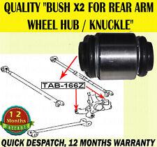 X2 FOR LEXUS RX300 RX350 RX400 RX400H BUSH FOR REAR WHEEL HUB KNUCKLE ARM BUSHES
