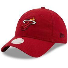Miami Heat New Era Women's Team Core Classic 9TWENTY Adjustable Hat - Red