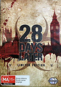 28 Days Later: Limited Edition (DVD, 2002) With Slip Case Aus Release Region 4