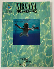 Nirvana Nevermind guitar tab edition book Hal Leonard Recorded Versions
