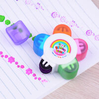 Kids Flower Scroll Stamper Drawing Toy Children Custom Rubber Painting Toys  Wn