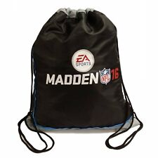 Madden NFL 16 2016 Cinch Sack Xbox PS3 PS4 Mini Backpack Bag NEW