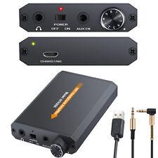 Audio HIFI Headphone Earphone Amplifier Amp Portable 2000mah Battery Charging