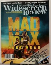 Widescreen Review Mad Max Fury Road Blue Ray Player Sept 2015 FREE SHIPPING JB