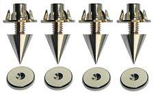 Monacor lautsprecher- puntas, sistema de absorción,altura ajustable,dorado,