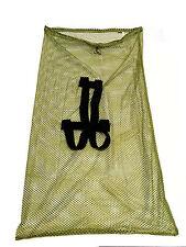 "Allen Mesh Decoy Bag 244 Olive Drab 30"" x 50"" Shoulder Straps Drawstring Closure"
