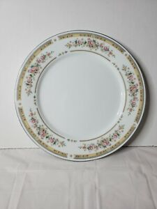 """Kentfield & Sawyer Fine Porcelain China Dinner 10"""" Replacement -Floral Gold"""
