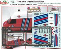 Transkit 1/43 FIAT DAILY ASSISTENZA LANCIA MARTINI SAFARI 1986 Arena Tk069