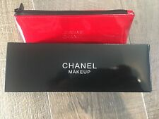 Coco Paris Le Rouge Red Make Up Pouch Bag With Gift Box New In Box GWP