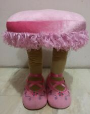 Pink Ballerina Stool, 17 inches tall, 12 inches in diameter