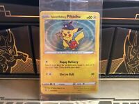 Sealed Special Delivery Pikachu SWIRL Pokémon Promo Card