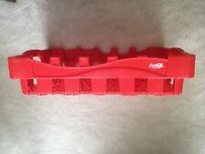 Coca-Cola red plastic bottle case / 24-pack tray holder 1990's * Property of CCE