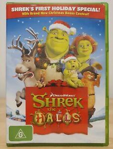 Shrek the Halls DVD Holiday Special (2009) Region 4 Australia