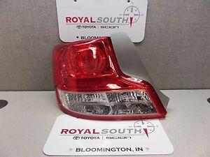 Scion 2011-2013 tC Left Rear Tail Light Genuine OEM OE