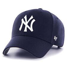 47 NUOVO da uomo blu 47 Brand MLB New York Yankees MVP CAPPELLO - CHIARO Navy