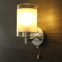 E27 LED Wall Light Modern Glass Decor Lighting Sconce Home Hotel Fixture Lamp