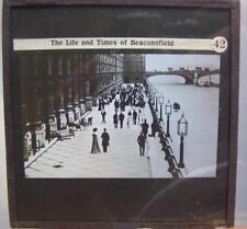 Magic Lantern - Benjamin Disraeli - Life & Times Of Beaconsfield