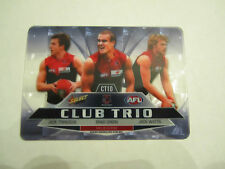 2012 AFL SELECT CHAMPIONS MELBOURNE CLUB TRIO CARD CT10 TRENGOVE GREEN WATTS
