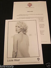 LIZZIE WEST 'HOLY ROAD…FREEDOM SONGS' 2003 PRESS KIT--PHOTO