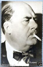 CARTE PHOTO ALERME  CINEMA  ACTEUR  1943