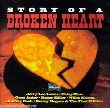 STORY OF A BROKEN HEART - VARIOUS ARTISTS (NEW CD)