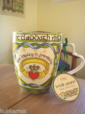 The Claddagh Ring from Clara Irish Weave, Bone China Cup or Mug