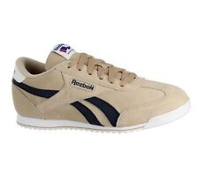 Mens Reebok Royal CL Rayen Suede Beige Lace Up Trainers UK 12 EUR 47