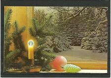 USSR 1990 New Year Year winter forest Christmas toys candlestick MC MK UdSSR New