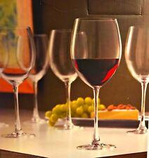 Lenox Tuscany Classics Red Wine Glasses Five Stems 24 ounce Lead Free Crystal