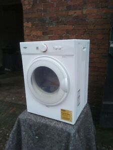 NEW GRADED BUSH WHITE MINI 3 KG VENTED TUMBLE DRYER  - UK DELIVERY