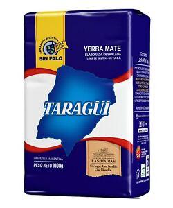 "YERBA MATE TARAGUI SIN PALO/NO STEM 1KG-2.2LB  ""SHIP FROM USA"""