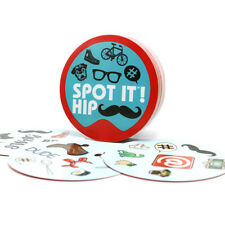 """NEW card game """"spot it hip"""" for adult: home + party board game"""