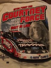 Courtney Force Nitro Funny Car Next In Line Tee Shirt XL