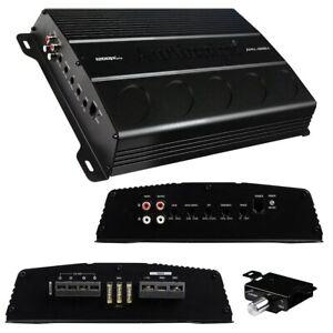 Audiopipe APEL12001 1200 Watts 1 Ohm Stable Mono Block Class D Mosfet Amplifier
