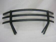 "New Manor Coal Saver Clip On Fret Front Black To Fit 16"" Fires Fire Grate 1882"