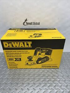 "DeWalt 20-Volt MaxXr Lithium-Ion Cordless Brushless 3-1/4"" Planer Tool-Only Q-11"