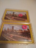 Minneapolis Souvenir Made in British Hong Kong Deck of Playing Cards  2 Decks