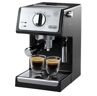 De'Longhi ECP3420 15 Bar Pump Espresso And Cappuccino Machine Black New