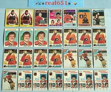 1973~1978 Topps O-Pee-Chee BERNIE PARENT Goalie Lot x 28 Vintage | Flyers HOF