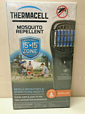 THERMACELL PORTABLE MOSQUITO REPELLER DEET FREE PROVIDES 15' x 15' ZONE PROTECT