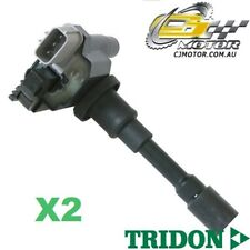 TRIDON IGNITION COIL x2 FOR Suzuki Swift EZ 02/05-01/10, 4, 1.5L M15A+VVT