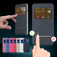 Luxus Flip Leder Case Etui TPU Bumper Handy Tasche Cover Schutz Hülle Schale
