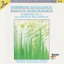 Berlioz-Symphonie Fantastique/Rakoczy marche - 2cds -