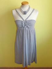 Kleid s.Oliver Tunika gestreift grau weiß Größe S wie neu
